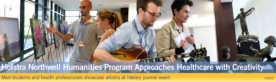 Hofstra Northwell Humanities Program Approaches Healthcare with Creativity