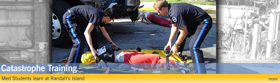 Multiple Casualty Incident Serves as Unique Training Experience for med Students - more