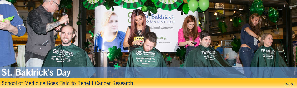 St. Baldrick's Day - School of Medicine Goes Bald to Benefit Cancer Research