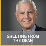 Greeting from the Dean