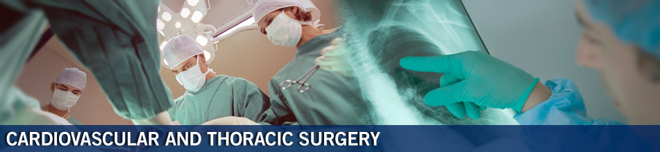 Cardiovascular and Thoracic Surgery Home